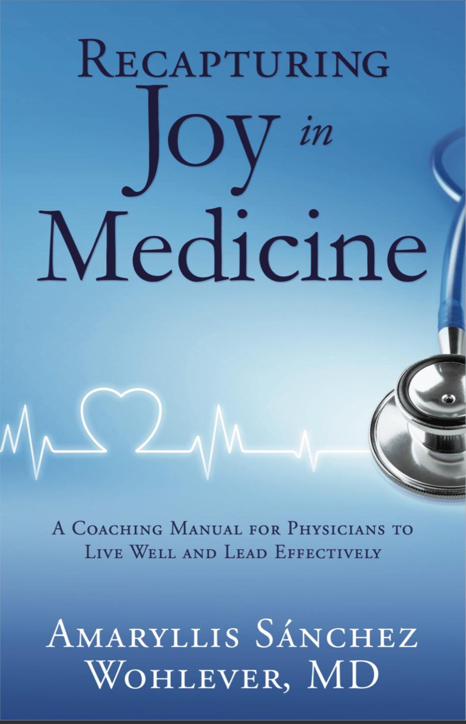 Recapturing Joy In Medicine_Front Cover-min